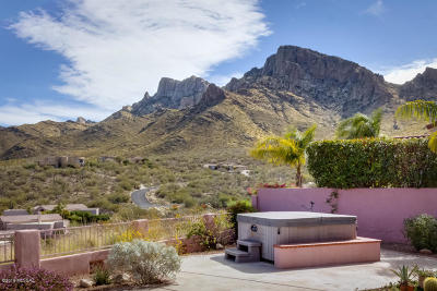 Oro Valley Single Family Home Active Contingent: 9990 N Bighorn Butte Drive