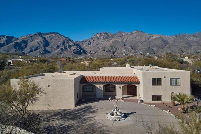 Tucson Single Family Home For Sale: 6610 E Circulo Invierno