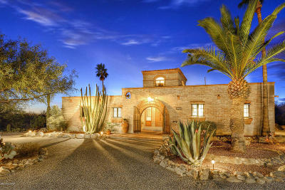 Tucson Single Family Home Active Contingent: 6747 N Montezuma Drive