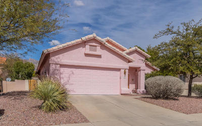 Tucson Single Family Home Active Contingent: 7727 E Windriver Drive