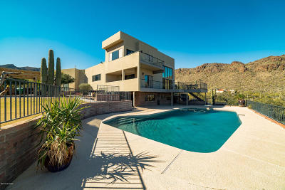 Tucson Single Family Home For Sale: 6222 W Lost Canyon Drive