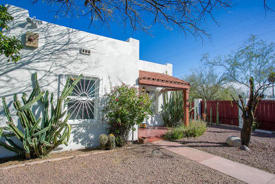 Tucson Single Family Home Active Contingent: 347 E Lester Street