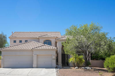 Tucson Single Family Home For Sale: 11044 N Divot Drive