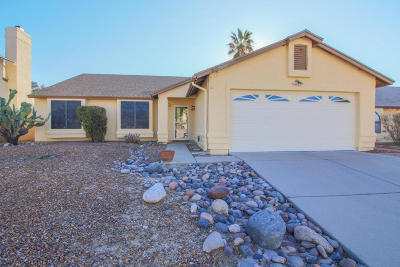 Tucson Single Family Home Active Contingent: 5025 W Nighthawk Way