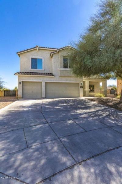 Sahuarita Single Family Home Active Contingent: 14435 S Camino Guadal