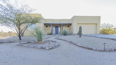 Tucson Single Family Home Active Contingent: 7879 W Spiney Lizard Place