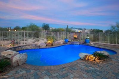 Marana Single Family Home Active Contingent: 4474 W Crystal Ranch Place