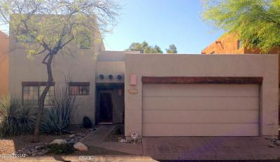 Tucson Single Family Home Active Contingent: 4344 N Rillito Creek Place
