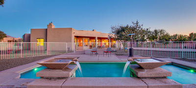 Tucson Single Family Home Active Contingent: 9765 N Sumter Court