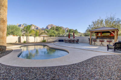 Oro Valley Estates Single Family Home Active Contingent: 285 W Oro Valley