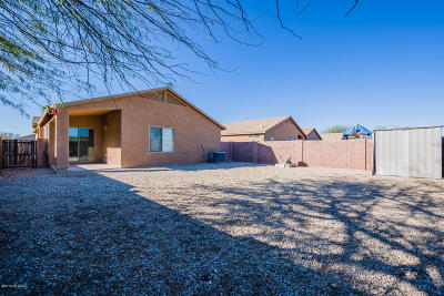 Tucson Single Family Home Active Contingent: 6331 E Garden Stone Drive