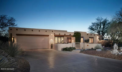 Tucson Single Family Home For Sale: 4404 N Rockcliff Place