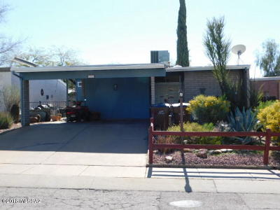 Tucson Single Family Home For Sale: 6976 N Village View Drive