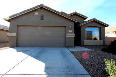 Marana Single Family Home Active Contingent: 11347 W Pipestone Street
