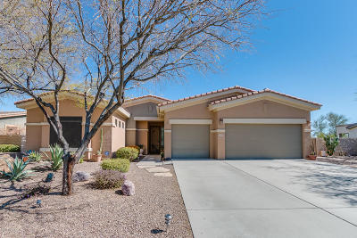 Oro Valley Single Family Home Active Contingent: 11942 N Thornbush Drive