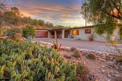 Tucson Single Family Home For Sale: 5230 E Camino Bosque