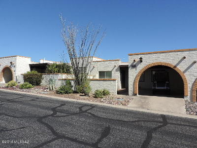Pima County, Pinal County Townhouse For Sale: 1434 W De Nada