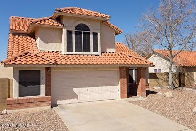 Tucson Single Family Home For Sale: 9519 E Ashford Drive