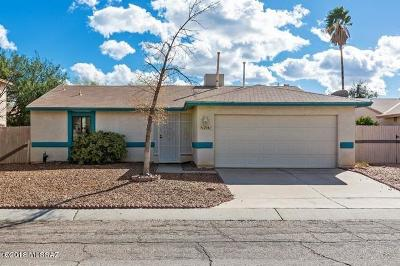 Tucson Single Family Home For Sale: 2541 W Fanbrook Road