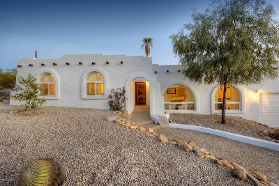 Tucson Single Family Home Active Contingent: 5601 E Camino Del Celador