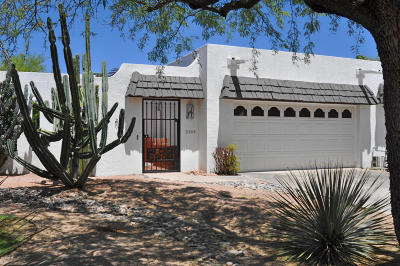 Tucson Townhouse Active Contingent: 7147 E Sabino Vista Circle