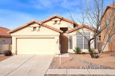 Tucson Single Family Home Active Contingent: 5633 Verde Mountain Drive