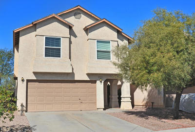Tucson Single Family Home Active Contingent: 8235 N Midnight Way