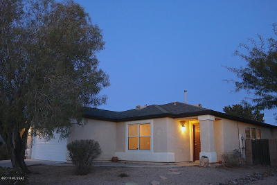 Tucson Single Family Home Active Contingent: 3573 S Twilight Echo Road