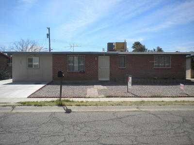 Tucson Single Family Home For Sale: 1339 W Simmons Place