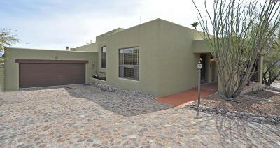 Tucson Single Family Home Active Contingent: 5749 E Camino Del Celador