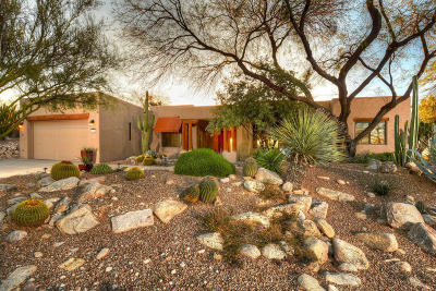 Tucson Single Family Home Active Contingent: 6035 E Country Club Vista Drive