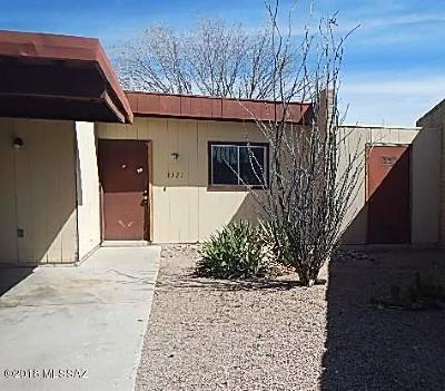 Tucson Townhouse For Sale: 3321 S Placita San Marcial