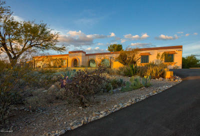 Tucson Single Family Home Active Contingent: 4642 N Paseo Pitiquito