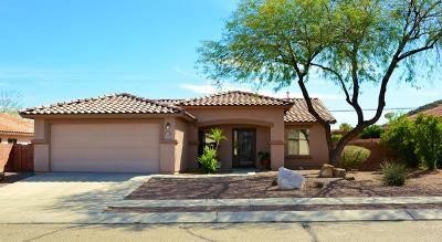 Tucson Single Family Home Active Contingent: 2621 W Brandy Crest Drive