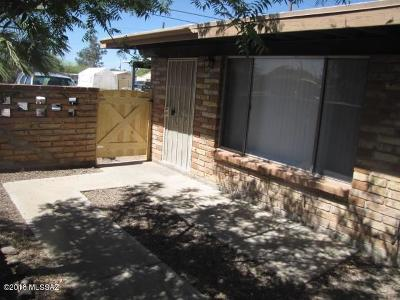 Tucson Residential Income For Sale: 353-355 E Alturas Street