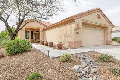 Marana Single Family Home Active Contingent: 13479 N Heritage Canyon Drive
