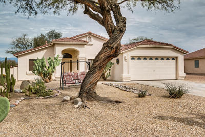 Tucson Single Family Home Active Contingent: 6951 W Somerton Drive