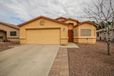 Tucson Single Family Home Active Contingent: 6060 N Raspberry Court