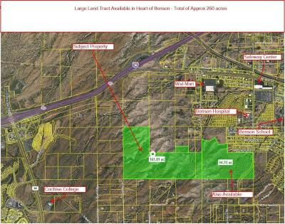 Cochise County Residential Lots & Land For Sale: W Benson