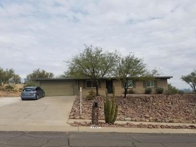 Tucson Single Family Home Active Contingent: 7890 N Hopdown Avenue