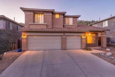 Sabino Mountain (1-290) Single Family Home For Sale: 4397 N Sunset Cliff Drive