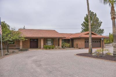 Tucson Single Family Home For Sale: 3641 N River Hills Drive