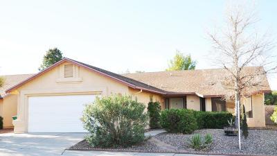 Tucson Single Family Home For Sale: 2621 W Camino Del Medrano