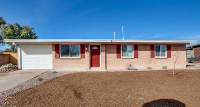 Tucson Single Family Home Active Contingent: 2454 W Sumaya Way