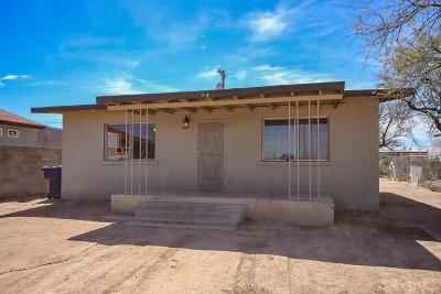 Tucson Single Family Home For Sale: 319 W 26th Street