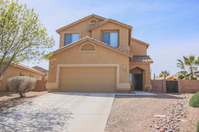 Marana Single Family Home Active Contingent: 11153 W Coppertail Drive