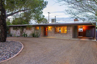 Tucson Single Family Home Active Contingent: 6151 E Oak Street