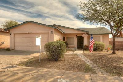 Tucson Single Family Home Active Contingent: 3079 S Marissa Drive