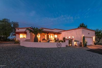 Tucson Single Family Home Active Contingent: 4840 W Placita Del Quetzal