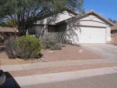 Marana Single Family Home Active Contingent: 5476 W Durham Hills Street